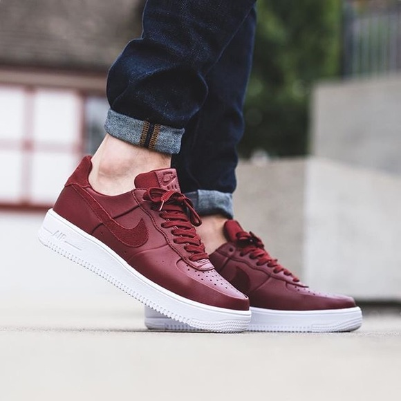 0dd122aa98 Nike Air Force 1 ULTRAFORCE Leather Men s Trainers.  M 5b73681f8158b5e40bef4c65. Other Shoes ...